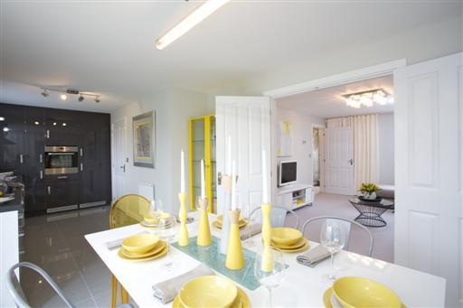 Bellway kitchen diner